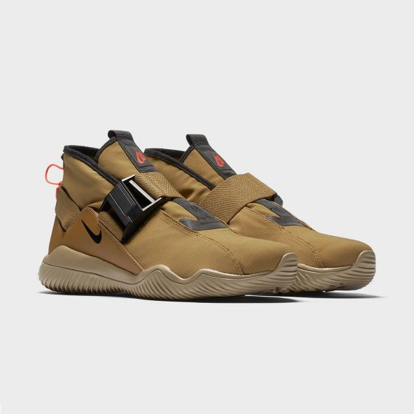 Picture of Golden Biege Casual Sneakers